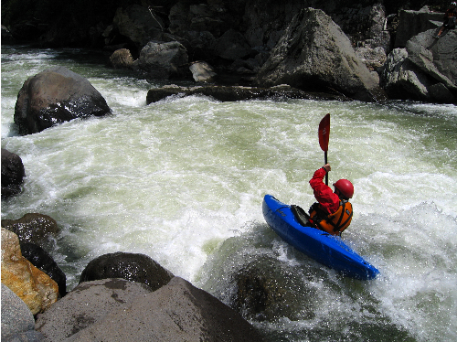 Ecuador's Quijos River, Cheese House section