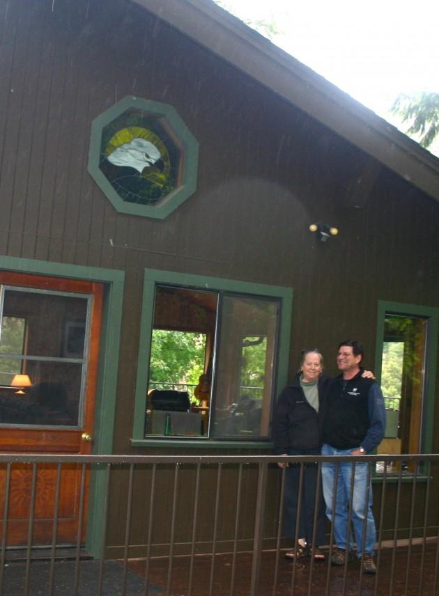 Riverhouse owners Ben & Marhsal
