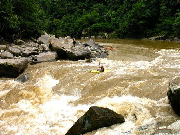 The Lower Misahualli in Ecuador