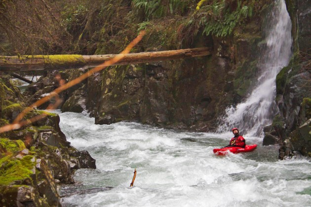 Final Gorge of the North Fork of the Washougal
