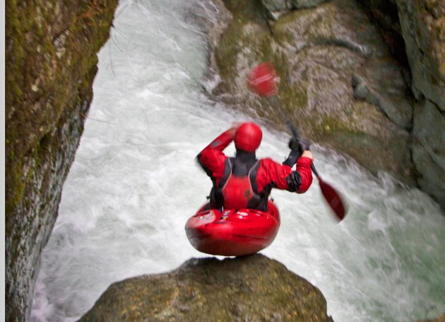 Seal Launching after Double Falls
