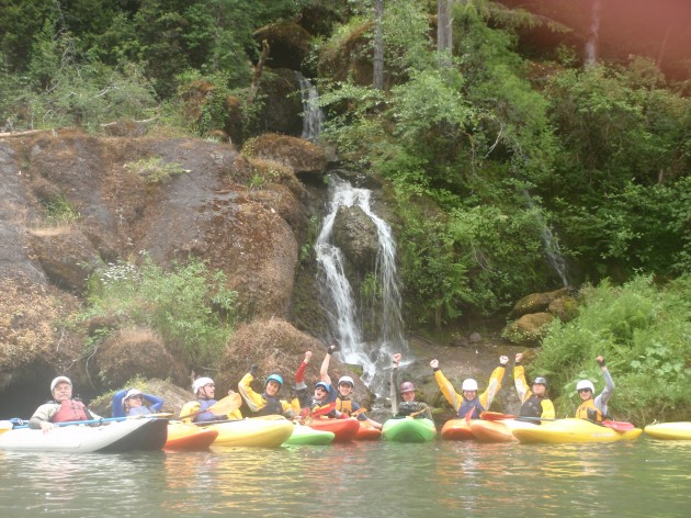 Group Photo on the Rogue River