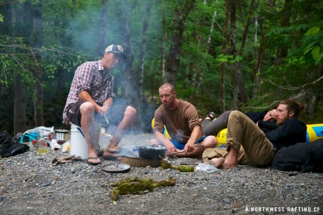 Our last camp at Boulder Creek