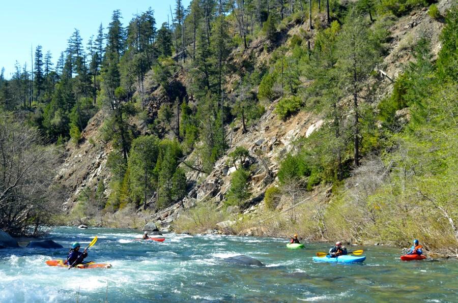 Smith River kayak lesson