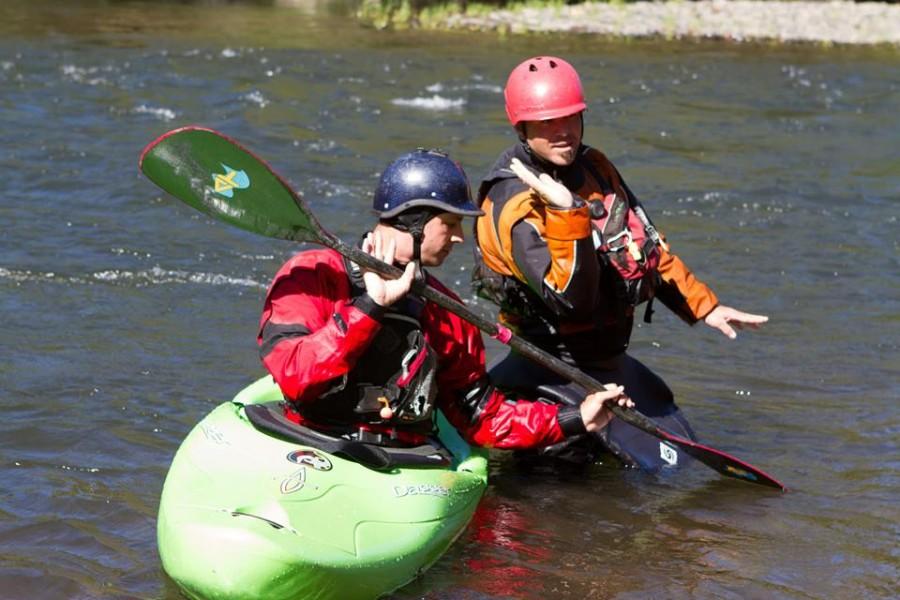Private Kayak Roll Class with Sundance Kayak School