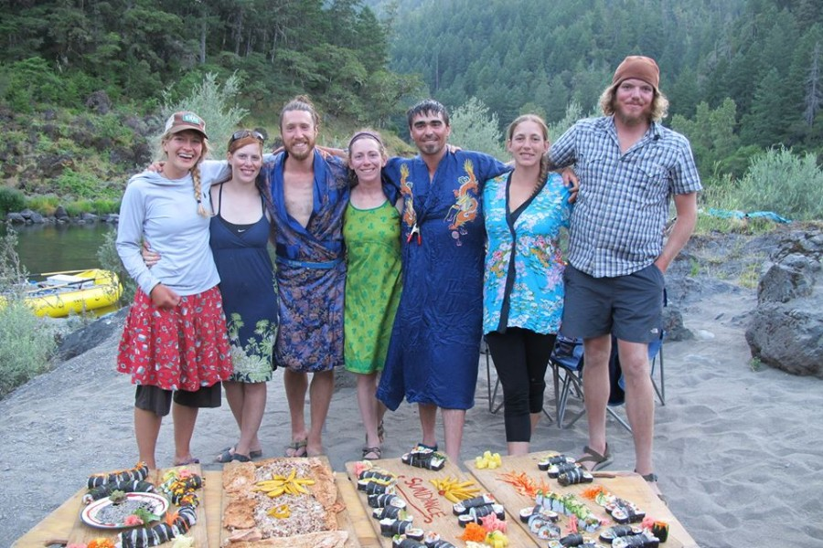 A special THANK YOU from Team Sundance & invitation to join us next year for Sushi on the Rogue River!