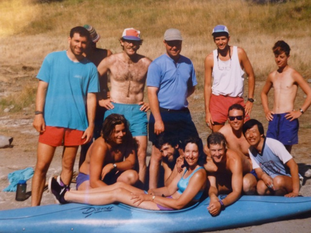 Marion and the Sundance Kayak School Team