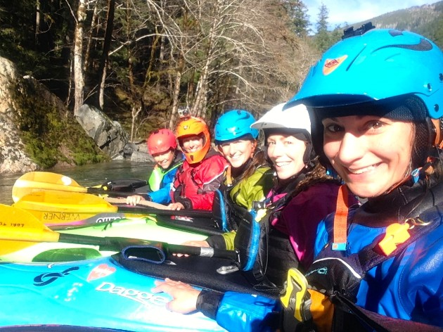 kayakers on the Chetco River