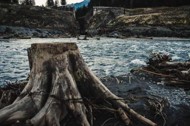 Nate Wilson Photography; Former Glines Canyon Dam on the Elwha River, Washington