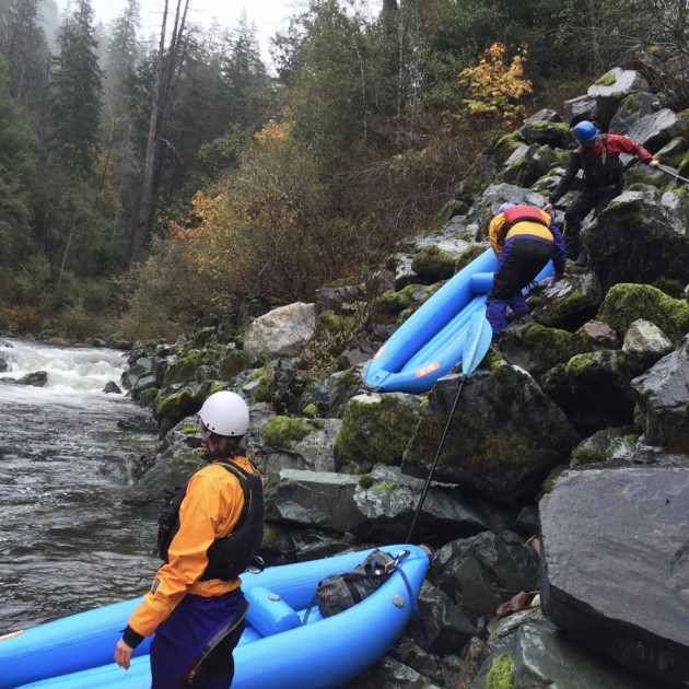 Surprise Rapid South Fork Smith River