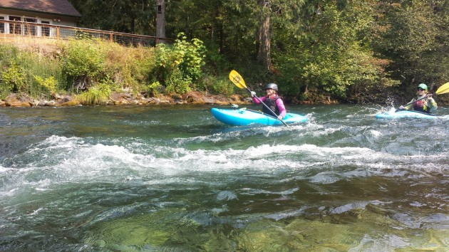 McKenzie River Kayak Class