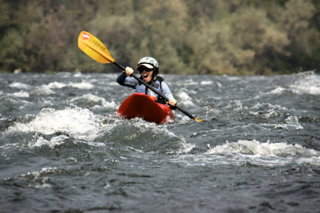 Beginner Kayak School Rogue River