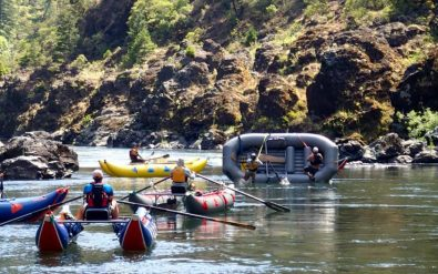rowing school on the Rogue River