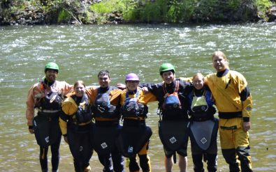 ACA Instructor Class hosted by Wet Planet Whitewater Center