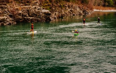 Group Stand Up Paddle Boarding